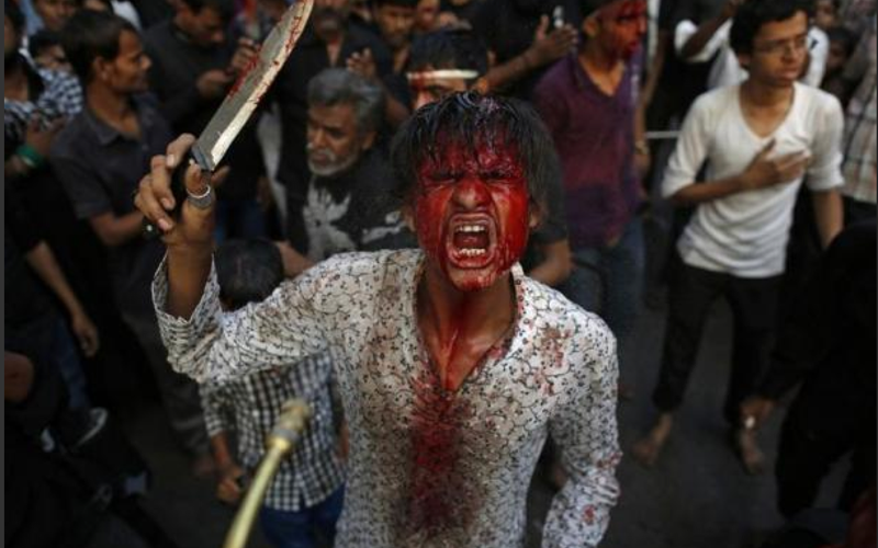 bizarre-cultural-practices-ashura-tradition