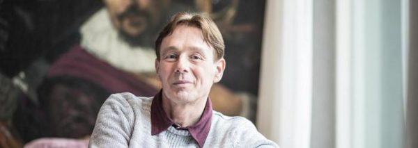 Doe-het-zelf-bankier Ronald Bernard in Haarlem, Nederland