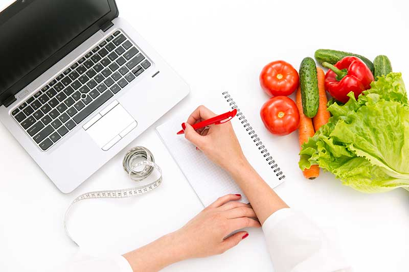 online διατροφή με την Ιατρίκη σφραγίδα
